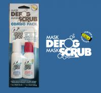 1 oz. Mask Defog / Mask Scrub Combo Pack